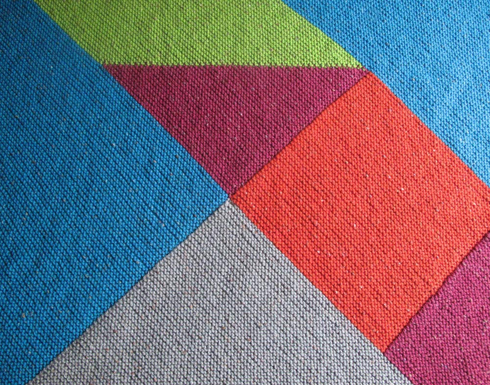 Knitting Pattern Errata : Patricia Cantos Design Tangram Blanket - pattern - Patricia Cantos Design