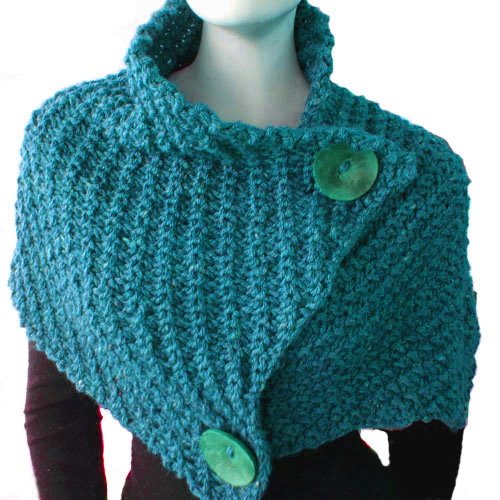 Design Of Knitting Patterns : Patricia Cantos Design Giant Retro Cowl - knitting pattern - Patricia Cantos ...