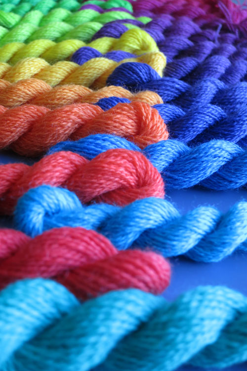 Merino Wool Lace weight mini skeins