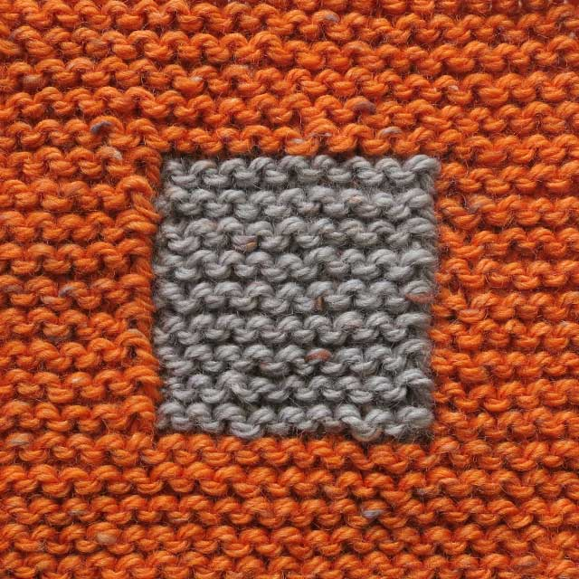 Knitting Cast Stitches Beginning Row : Patricia Cantos Design Basic Knitting stitches: Garter stitch - Patricia Cant...