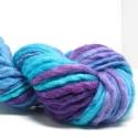Marta's Yarns Slubby -  Iris and Turquoise  (100gm)