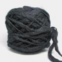 Marta's Yarns Slubby - Black (100gm)