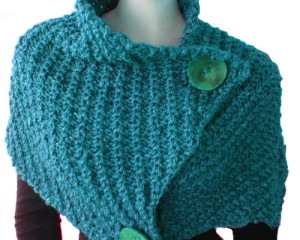 Giant Retro Cowl – knitting pattern